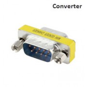Serial 9 Male to 9 Male Converter