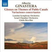Ginastera - Glosses On Themes of Pabl (0747313224975) (1 CD)
