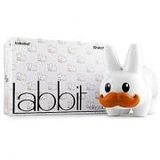 Stache Labbit White 10 Vinyl Figure Kidrobot
