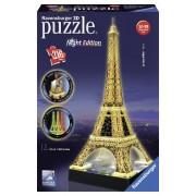 Ravensburger Puzzle 3D Turnul Eiffel noaptea, 216 piese