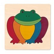Hape-Rainbow frog (George Luck Puzzle)
