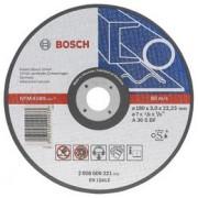 Disc de taiere metal, executie dreapta,D=180mm G=3mm