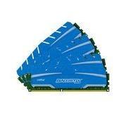 Crucial Ballistix Sport XT 16 Go (4 x 4 Go) DDR3 1600 MHz CL9 - Kit Quad Channel DDR3 PC12800 - BLS4C4G3D169DS3BEU (garantie à vie par Crucial)