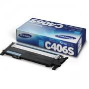 Тонер касета за Samsung CLT-C406S Cyan Toner - CLT-C406S/ELS