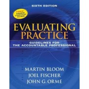 Evaluating Practice by Martin Bloom