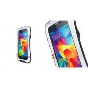 Etui Love Mei do Samsung Galaxy S5 ZAOKRĄGLONY - Biały z czarną obwódką