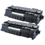 2 Pack Ink4workReplacement Toner Cartrige for HP CE505A (05A) LaserJet P2035 P2035n P2055d P2055dn P2055X
