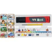 pH-Teszter és Hőmérő készülék, elektromos - HOME PHT01