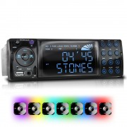 """XOMAX """"XOMAX XM-RSU236BT FlashXO USB SD Autoradio ohne Laufwerk mit Bluetooth-Freisprecheinrichtung (B-Ware)"""""""