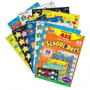 School Days Stickers, Acid-free, Nontoxic, 432 Stickers, Sold as 1 Each