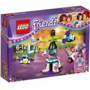 Конструктор Лего Френдс - Пътуване в космоса в увеселителния парк - LEGO Friends, 41128