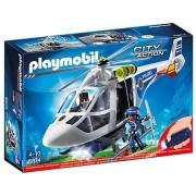 City Action - Politie Helicopter met LED Zoeklicht