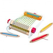Hape - Early Explorer - My First Loom Wooden Weaving Toy
