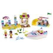 LEGO® Juniors Andrea si Stephanie in vacanta la mare - L10747