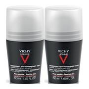 Homme duo roll on anti-transpirante 48h pele sensivel 2x50ml - Vichy