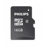 Card memorie Micro SDHC, cu adaptor SD, clasa 10, PHILIPS - 16GB