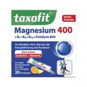 Taxofit 400 mg pellets sports drink 20 sticks citrus blue/white Compléments alimentaires