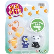 Partner Jouet Mini Animali A1100046 Animal Figures (Set di 2) con accessori