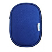 Saco Shock Proof External Hard disk Protector for Toshiba Canvio Basic A2 - Blue