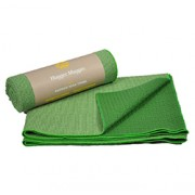 ECO BAMBOO YOGA TOWEL (Lime Green) (26in x 72in x 1/16in) 66cm x 183cm x 1.6mm