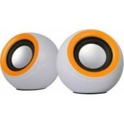 Boxe 2.0 Omega OG116B Alb Orange 2x3W