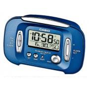 CASIO Sveglia Elettronica con Radio Incorporato, Colore Blu