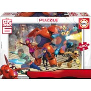 EDUCA 16338 Cardboard puzzle Big Hero 6, 200 bucăţi