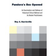 Pandora's Box Opened by Roy A. Harrisville