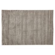 Tapis design 'LILOU' 160x230 cm à poils longs gris très doux
