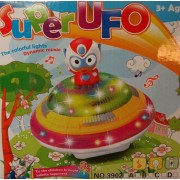 Ufo világítós zenélős önműködő autó No.3902 - Gyerek játék