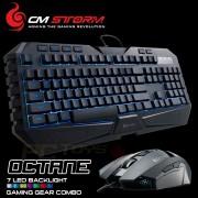 Геймърски комплект клавиатура с мишка CM Storm Octane