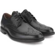Clarks Dorset Limit Black Men Genuine Leather Formal shoes(Black)