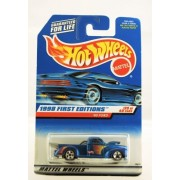 Hot Wheels 1998 First Editions 1940 Ford Pickup Die Cast #20 Of 40 Cars Blue Metallic Paint Collector #654 Limited Edition Collectible 1:64 Scale