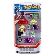 Pokemon X & Y Mega Scizor, Jirachi, Meowth & Kirlia Mini Figure 4-Pack by Pokemon X & Y Toys, Action Figures, Playsets & Plush