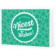 """Nicest Wishes! - Geschenk-Gutschein zum Selberdrucken - """"""""Nice Wishes"""""""" Gutschein"""