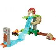 Fisher-Price Nickelodeon Blaze & the Monster Machines Animal Island Stunts Speedway Playset