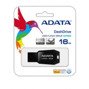 USB STICK ADATA; model: AUV100-16G-RBK; capacitate: 16 GB; culoare: NEGRU