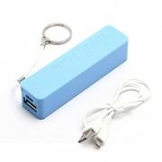 LKM Powerbank 2600mah batteria USB universale BLU