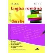 Culegere Limba română Clasa a IV-a.