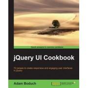 JQuery UI Cookbook by Adam Boduch