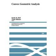 Convex Geometric Analysis by Keith M. Ball