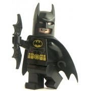 GENUINO Lego DC Comics NEGRO BATMAN Minifigura (de 76013 set) - SH016a