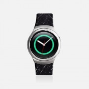 Casetify Gear S2 Bands by Casetify, [Dark Marble] Samsung Gear S2 Straps & Samsung Smartwatch Replacement Band for Samsung Gear S2 SM-R720 Model Only. Decorate Your Samsung Smartwatch (Large)