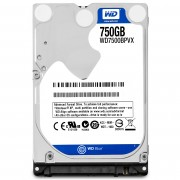 Western Digital WD Blue, 2.5', 750GB, SATA/600, 5400RPM, 8MB cache