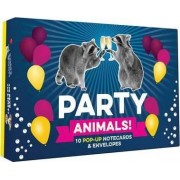 Party Animals! Pop-up Notecard Collection by Chronicle Books