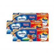 Mellin Omogeneizzati di carne - KIT 3X Vitello - KIT_3X_Confezione da 240 g ℮ (3 vasetti x 80 g)