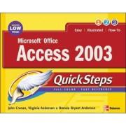 Microsoft Office Access 2003 QuickSteps by John Cronan