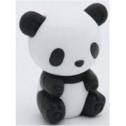 Iwako Puzzle Eraserz - Bamboo Panda - Negro