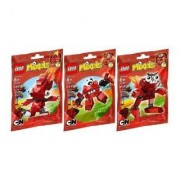 Lego Mixels Infernites Set Of 3 - 41500 41501 41502