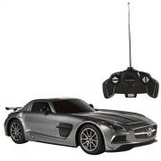 Rastar - Mercedes-Benz SLS AMG Black Series, coche teledirigido, escala 1:18, gris (ColorBaby 85036)